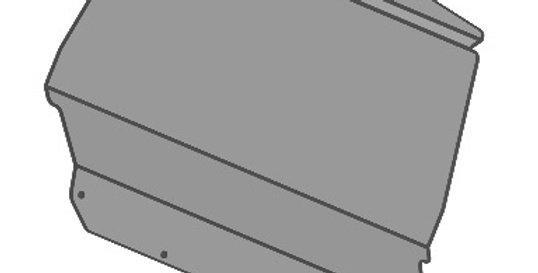 pare-brise arrière / rear windshield, Zforce 500 800 1000