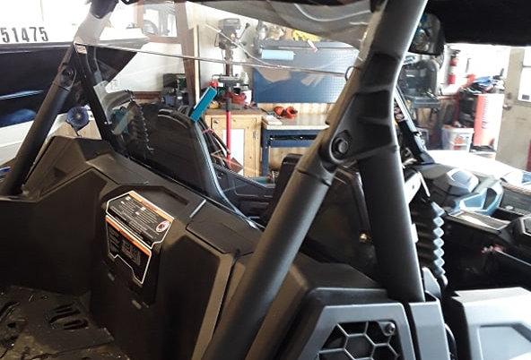 pare-brise arrière / rear windshield, Maverick Trail & Sport