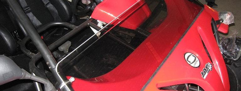 demi pare-brise / half windshield, Chironex