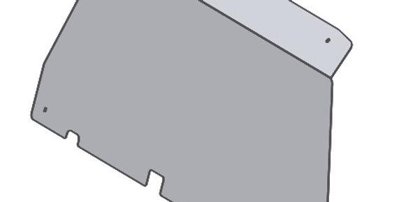 de pare-brise arrière / rear windshield, Chironex Komodo 600 1000