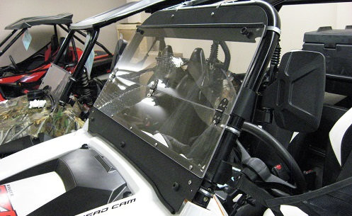 Arctic Cat Prowler folding windshield