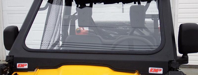 Kit pour pare-brise de verre / glass windshield kit, Pioneer 500