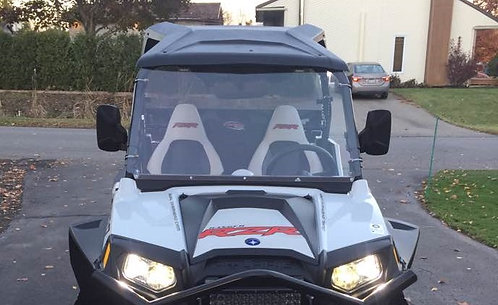 Polaris RZR 570 800 900 full windshield with stiffener