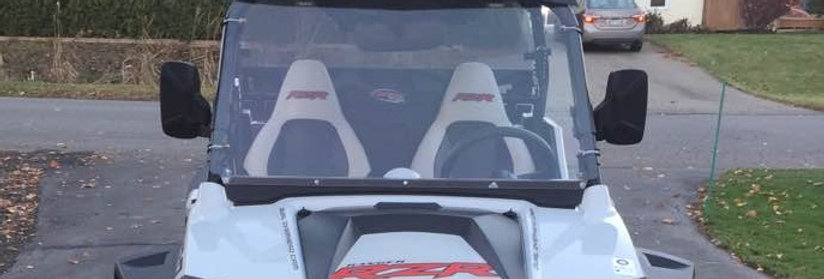 pare-brise plein / full windshield, RZR