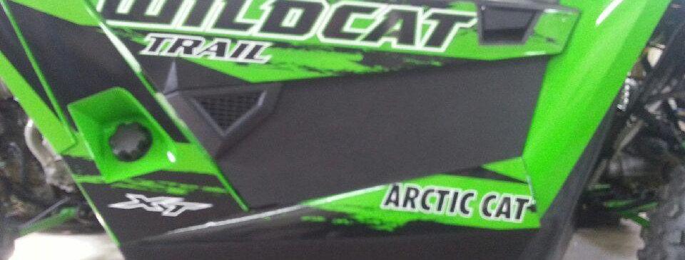bas de porte alu / alu door inserts, Wildcat Trail Sport