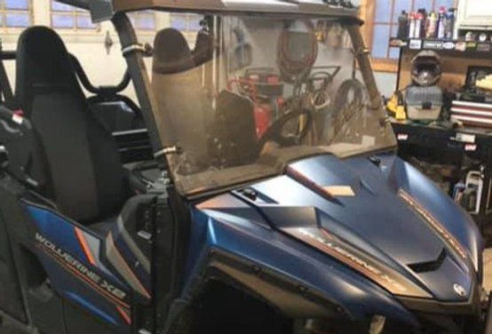 pare-brise / windshield, Wolverine X2 X4 Rmax
