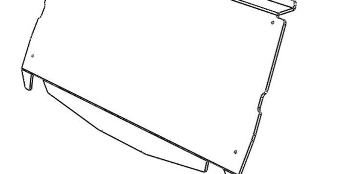 pare-brise arrière / rear windshield, Talon