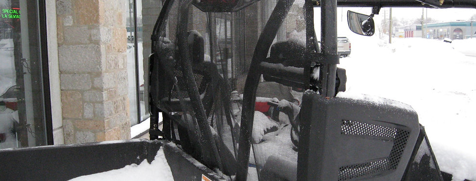 filet anti-vent arrière / rear windscreen, Prowler