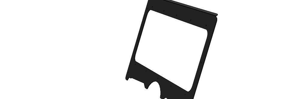 Kit pour pare-brise de verre / glass windshield kit, Rhino