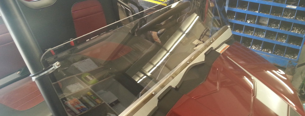 demi pare-brise Ranger midsize half windshield