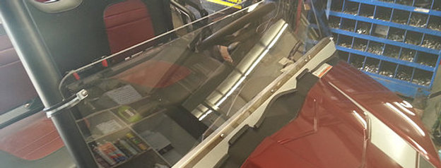 demi pare-brise / half windshield, Ranger midsize
