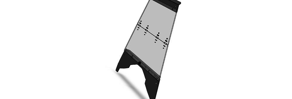 pare-brise pliant / folding windshield, Ace