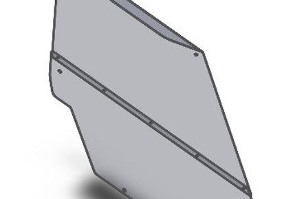 pare-brise arrière / rear windshield, Ace