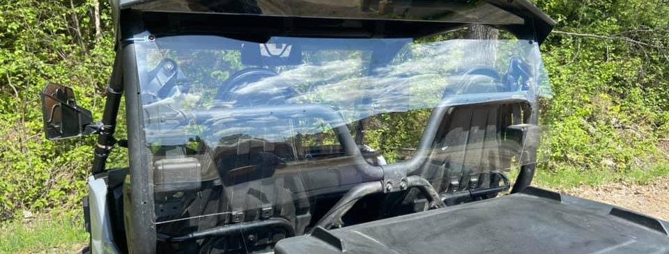 pare-brise arrière / rear windshield, Wolverine 2021