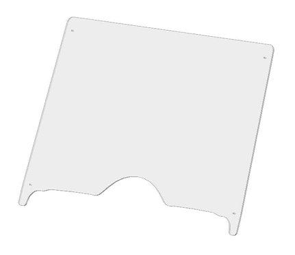 Chironex Spartan full windshield with stiffener