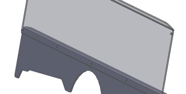 demi pare-brise / half windshield, Rhino