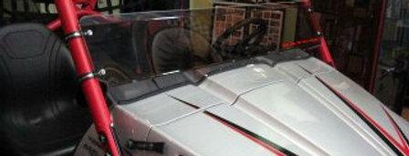 demi pare-brise Kawasaki Teryx 750 half windshield