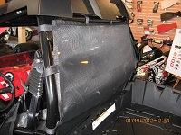Polaris RZR 4 800 900 rear windscreens