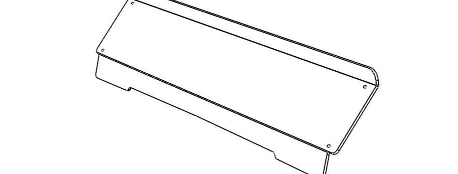 demi pare-brise / half windshield, Mule 4000 / 4010