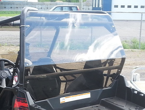 Polaris RZR XP 4 900 rear windshield