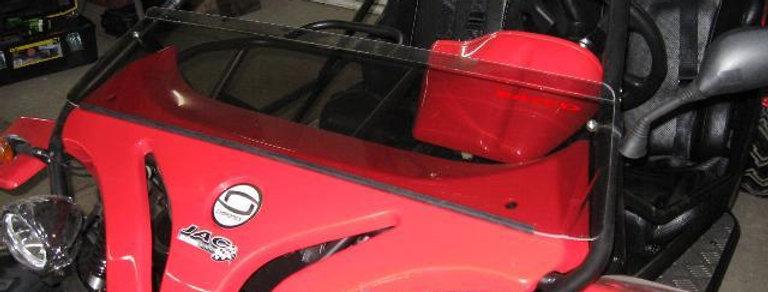 demi pare-brise / half windshield, Chironex Komodo 600 /1000