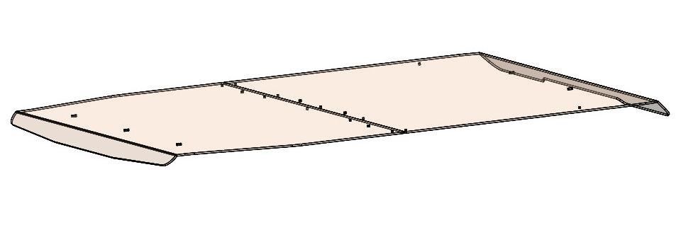 toit teinté / tinted roof, Pioneer 1000-5