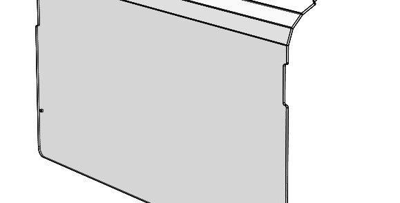 pare-brise arrière / rear windshield, Uforce