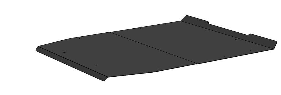 toit aluminium Pioneer 5 aluminum roof