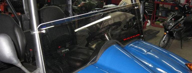 demi pare-brise / half windshield, Chironex Spartan