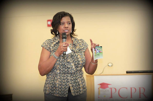 Candace at PCPR 2013 Conference.jpg