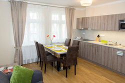 Limes apartments kitchen