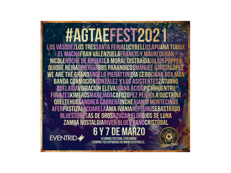 Line up #AGTAEfest 2021!