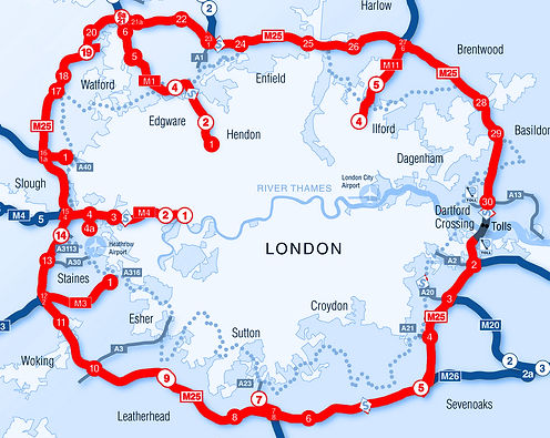 We cover Greater London and the Home Counties