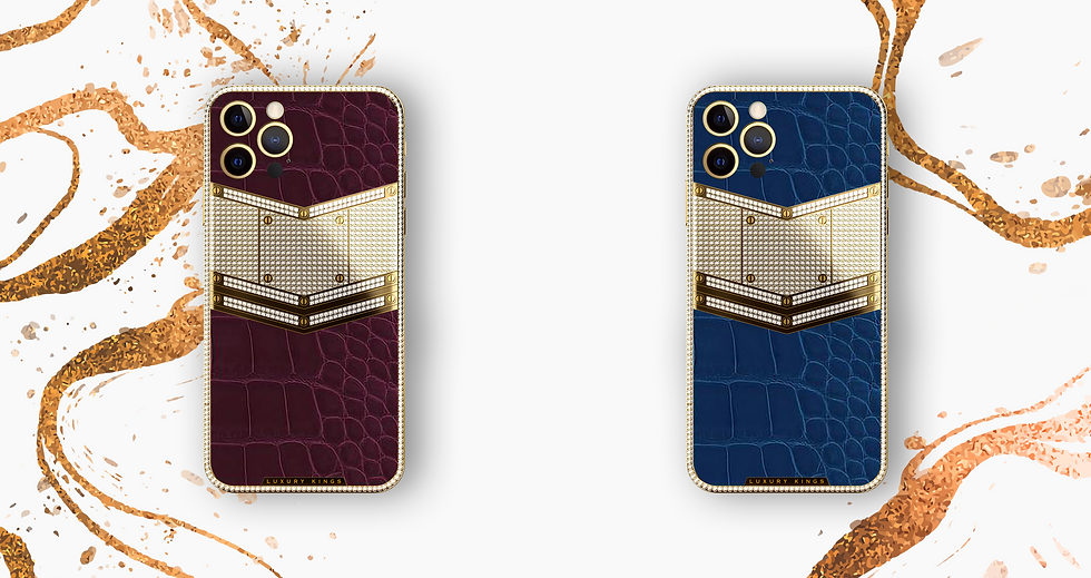 iPhone 24 karat gold and leather edition limited customised smartphones luxury kings India
