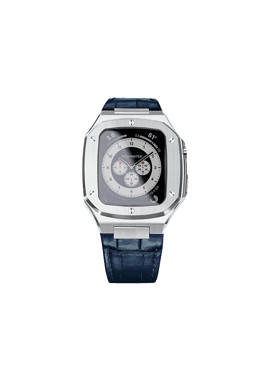 Platinum Apple Watch Case - 44 LK