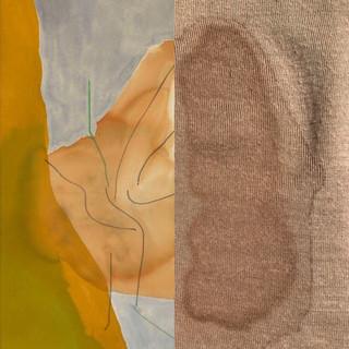 Left: Barbizon, Helen Frankenthaler. Right: The consequences of not wearing a bra.