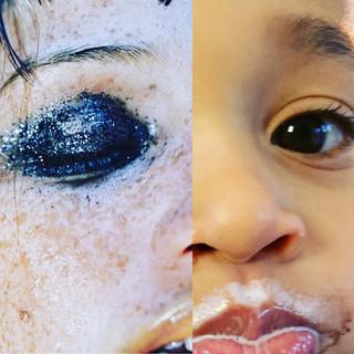 Left: Shinola, Marilyn MInter. Right: Milk Mustache I.