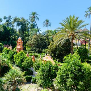Garden of Royal Alcazars of Seville
