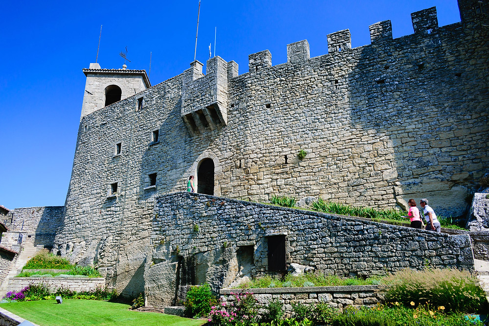 Guaita Fortress External Wall
