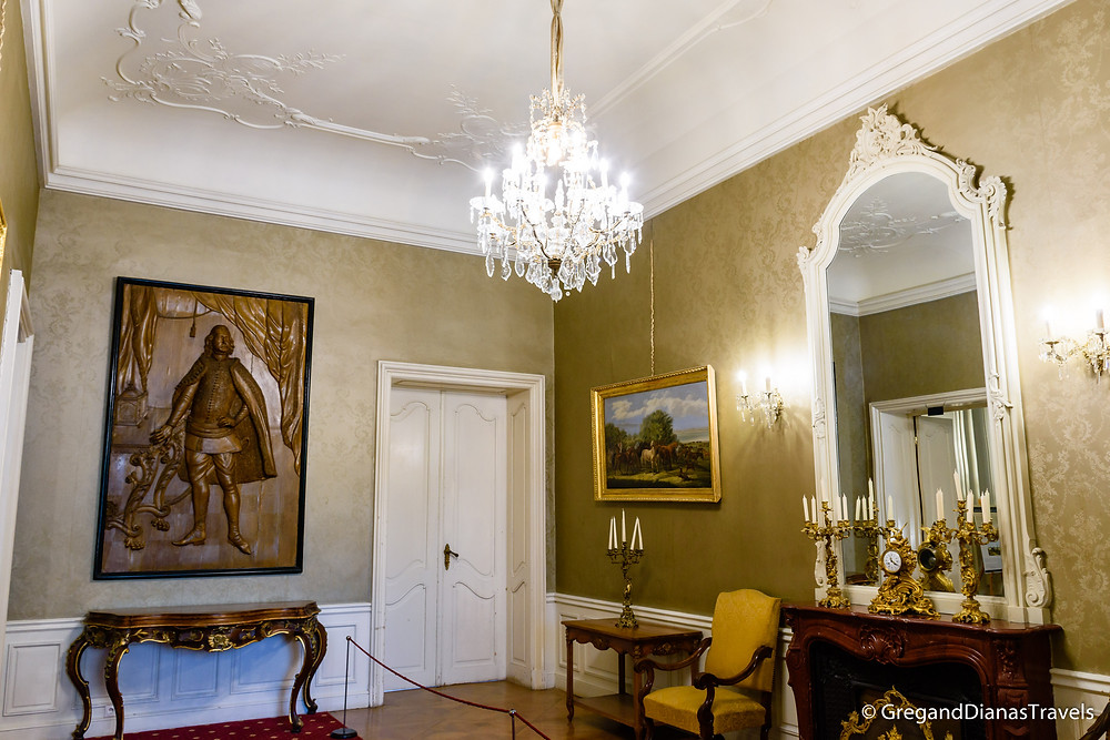 Kristof Room, Festetics Castle, Festetics Kastély, Keszthely Hungary, Travel photography, Travelblog, Travelblogger