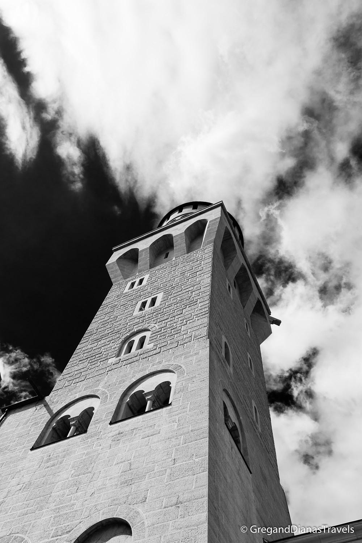 Bavaria Germany, Travel blog, Travel photography, Neuschwanstein Castle Tower