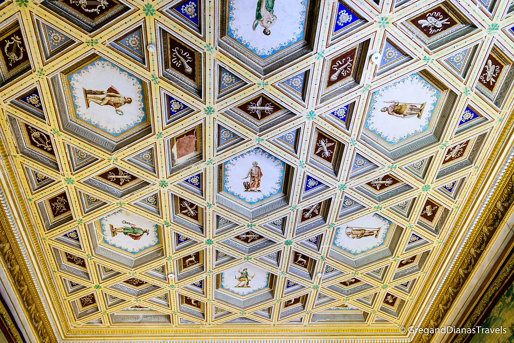 Ceiling in the Ducal Palace