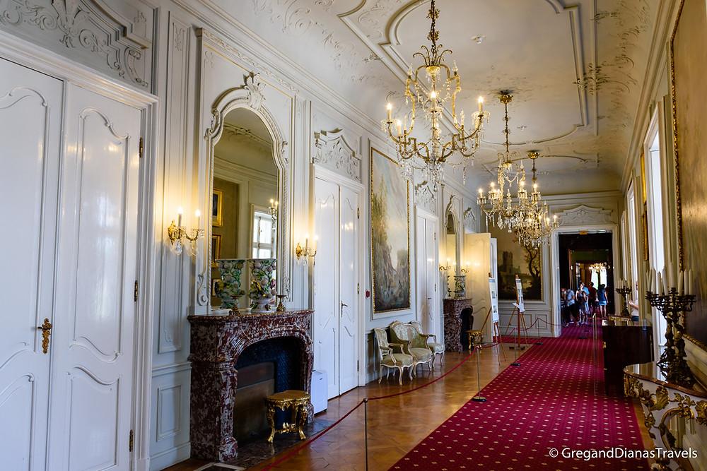 György Corridor, Festetics Castle, Keszthely Hungary, Travelblog, Travel photography, Travelblogger