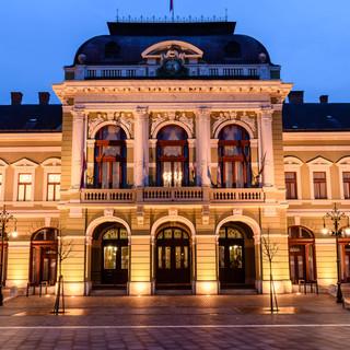 City Hall in Dobó Square