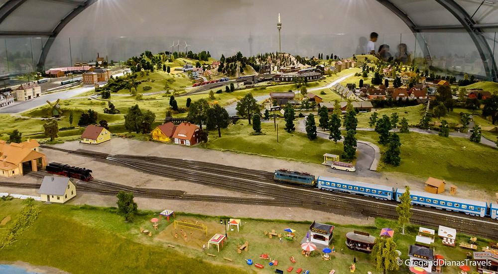 Historical Model Railway Exhibition, Festetics Castle, Keszthely Hungary, Travel blog, Travel blogger, Travel photography