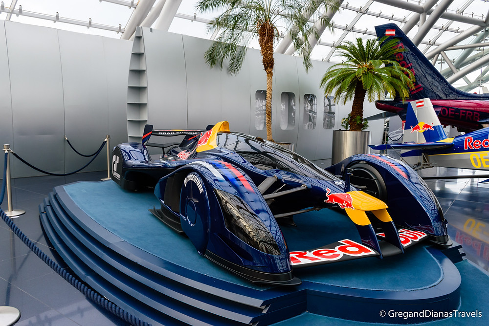 Red Bull X2010, Prototype car, Salzburg Austria, Travel blog, Travel photography, Hangar-7 Salzburg, Red Bull Hangar-7