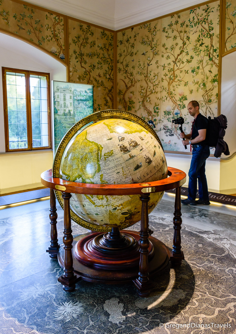 Makart Room, Hellbrunn Castle, Salzburg Austria, Travel blog, Travel photography