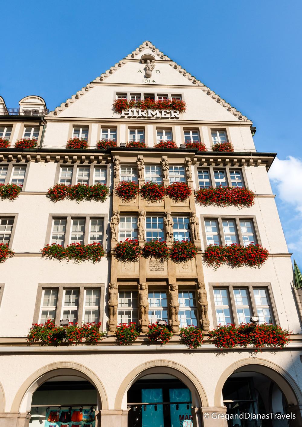 Hirmer Shop in Munich, Travel blog, Shop in Munich, München Deutschland