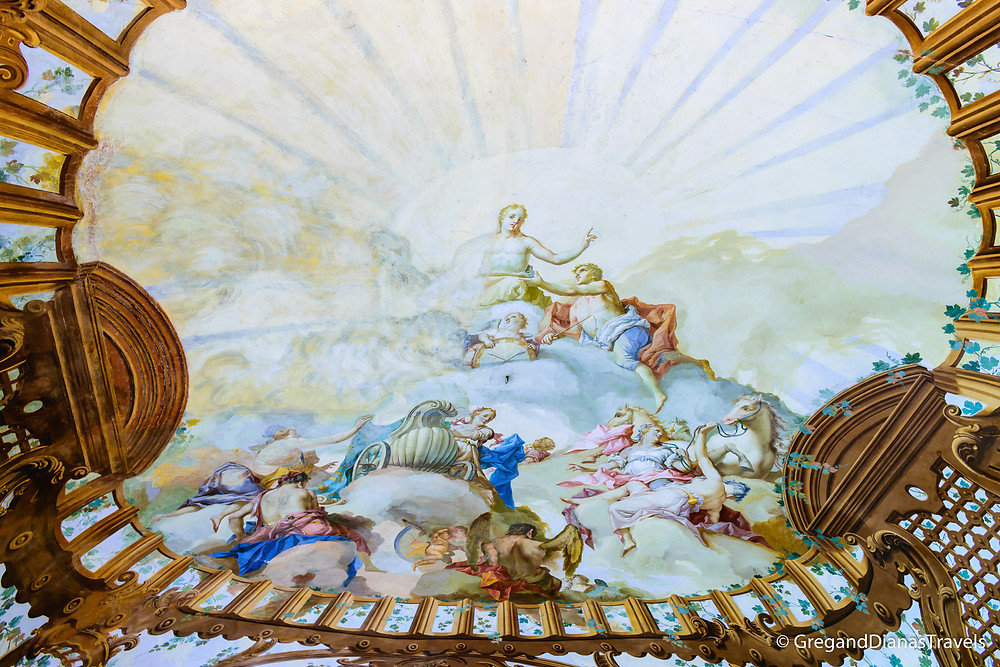 Ceiling Fresco in the Ducal Palace