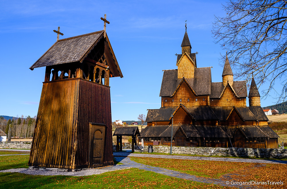 Bell Tower of Heddal Stave church